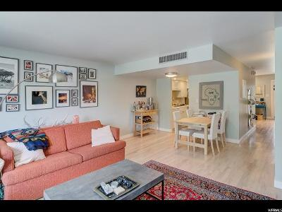 Salt Lake City Townhouse For Sale: 123 E Second Ave #T6