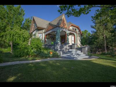 Salt Lake County Single Family Home For Sale: 28 E Pioneer