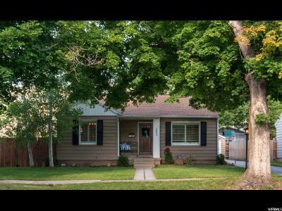 Salt Lake City Single Family Home For Sale: 2853 S Hartford St