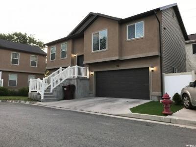 Salt Lake City Single Family Home For Sale: 56 W Susan Grove Ln