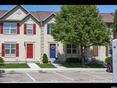 Eagle Mountain Townhouse For Sale: 7971 N Wycliffe Way W