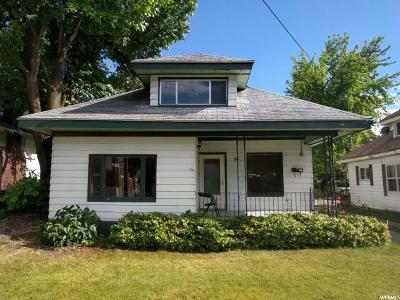 Lewiston Single Family Home For Sale: 38 W 400 S