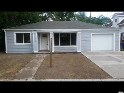 Salt Lake City Single Family Home For Sale: 1774 S 300 E