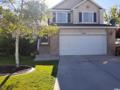 Salt Lake City Single Family Home For Sale: 1174 N Antilles Cir