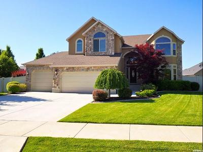 South Jordan Single Family Home For Sale: 4243 W Spruce Leaf Cir S