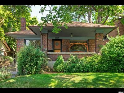 Salt Lake City Single Family Home For Sale: 1067 E 800 S