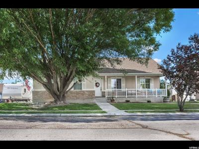 Eagle Mountain Single Family Home For Sale: 2126 E Fall St N