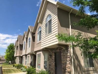 Lehi Townhouse For Sale: 189 S Tamarak Cir