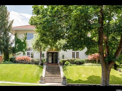 Salt Lake City Single Family Home For Sale: 1506 E Harvard Ave