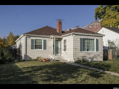 Provo Single Family Home For Sale: 707 E 150 S