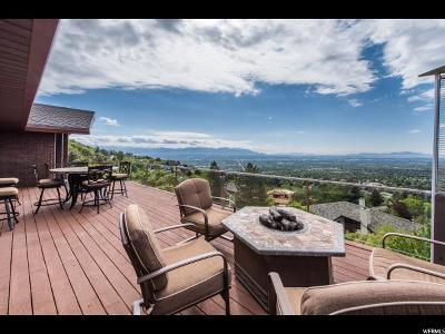 Salt Lake City Single Family Home For Sale: 3867 E Thousand Oaks Cir