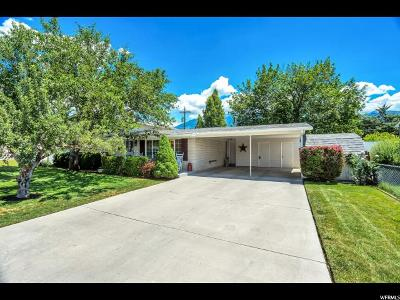 Orem Single Family Home For Sale: 1063 S 200 W