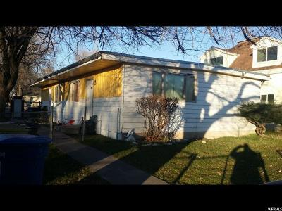 Salt Lake City Multi Family Home For Sale: 1142 W 700 S