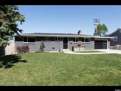 Salt Lake City Single Family Home For Sale: 4216 S Sunset View Dr E