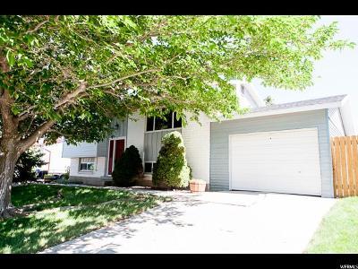 Salt Lake City Single Family Home For Sale: 5917 W Black Mica Ave