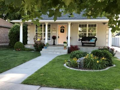 Springville Single Family Home For Sale: 32 S 200 E
