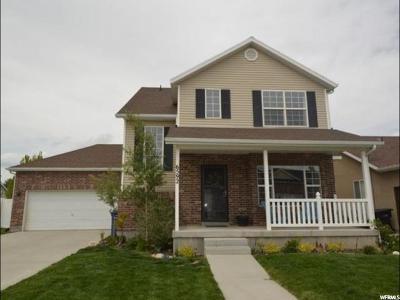 West Jordan Single Family Home For Sale: 6592 W Scarlet Oak Dr