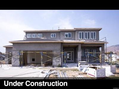 Mapleton Single Family Home For Sale: 487 N 150 E