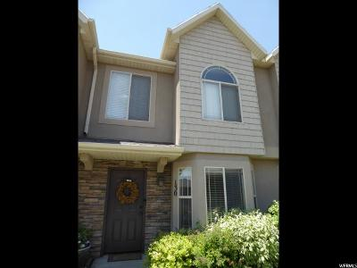 Lehi Townhouse For Sale: 130 S Tamarak Cir