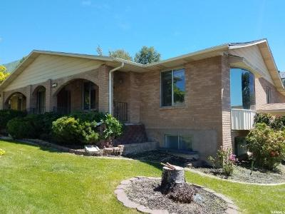 Orem Single Family Home For Sale: 1652 N Quail Rd
