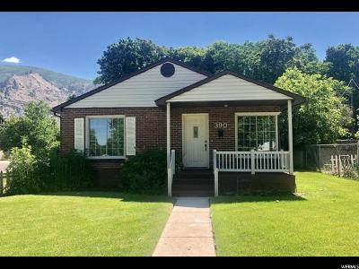 Springville Single Family Home For Sale: 390 N 200 W