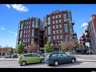 Salt Lake City Condo For Sale: 360 W 300 S