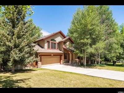 Park City Single Family Home For Sale: 7990 Meadowview Dr