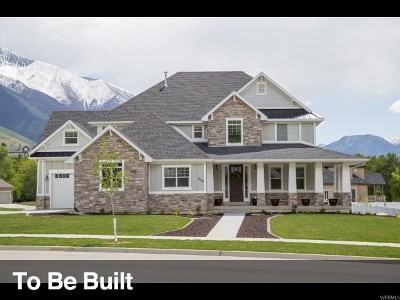 Lehi Single Family Home For Sale: 637 N 1300 W #51