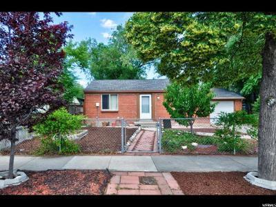 Salt Lake City Single Family Home For Sale: 1099 W Glendale S