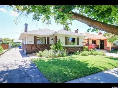 Salt Lake City Single Family Home For Sale: 530 E Browning Ave S