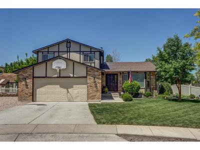 West Jordan Single Family Home For Sale: 3430 W Heritage Oaks Cove