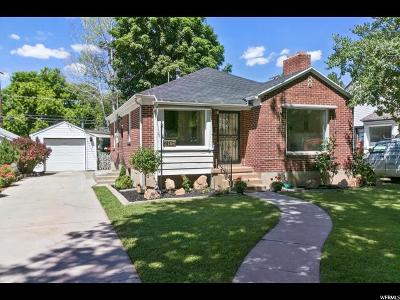 Salt Lake City Single Family Home For Sale: 2146 S 1800 E