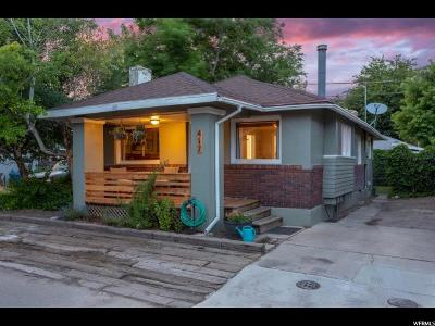 Salt Lake City Single Family Home For Sale: 417 E Logan Ave S