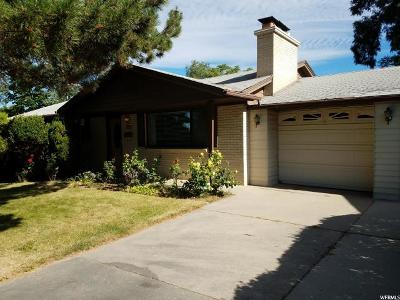 Holladay Single Family Home For Sale: 3189 E Nila Way S