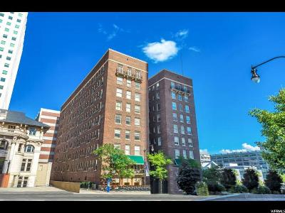 Salt Lake City Condo For Sale: 29 S State St #605