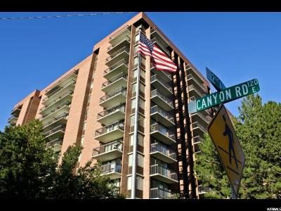 Salt Lake City Condo For Sale: 123 E 2nd Ave N #602