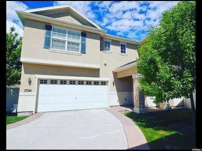 West Jordan Single Family Home For Sale: 7724 S New Snowbell Ln W