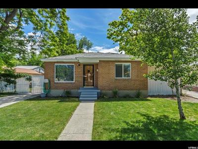 Salt Lake City Single Family Home For Sale: 738 Pearl Harbor St