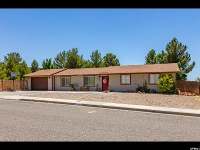 St. George Single Family Home For Sale: 1311 W 450 N