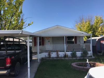 West Jordan Single Family Home For Sale: 8400 S 4000 W #114