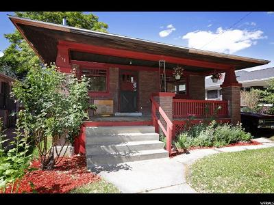 Salt Lake City Single Family Home For Sale: 241 E Belmont Ave