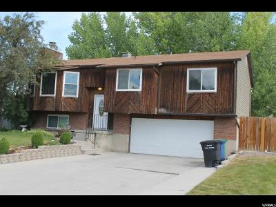 West Jordan Single Family Home For Sale: 3286 W 6960 S