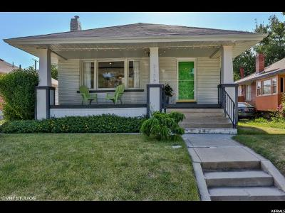 Salt Lake City Single Family Home For Sale: 2138 S Green St