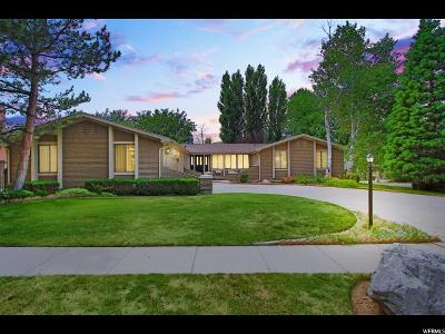 Cottonwood Heights Single Family Home For Sale: 8066 S Top Of The World Dr