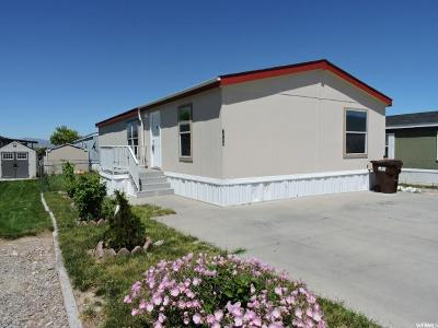 Tooele UT Single Family Home For Sale: $48,000