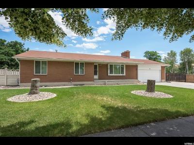 West Jordan Single Family Home For Sale: 6751 S Fargo Rd W