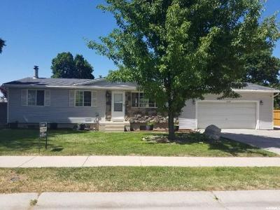 West Jordan Single Family Home For Sale: 3568 W 8315 S