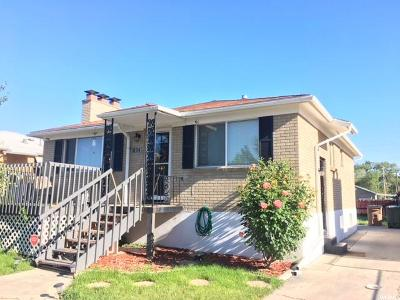 Salt Lake City Single Family Home For Sale: 1403 W Gillespie Ave