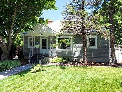 Salt Lake City Single Family Home For Sale: 1117 E Blaine Ave S