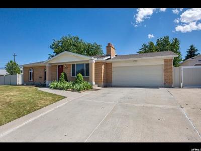 Salt Lake City Single Family Home For Sale: 3617 W Thunderbird Way
